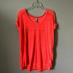 Free People Beach Tee - Coral - Small